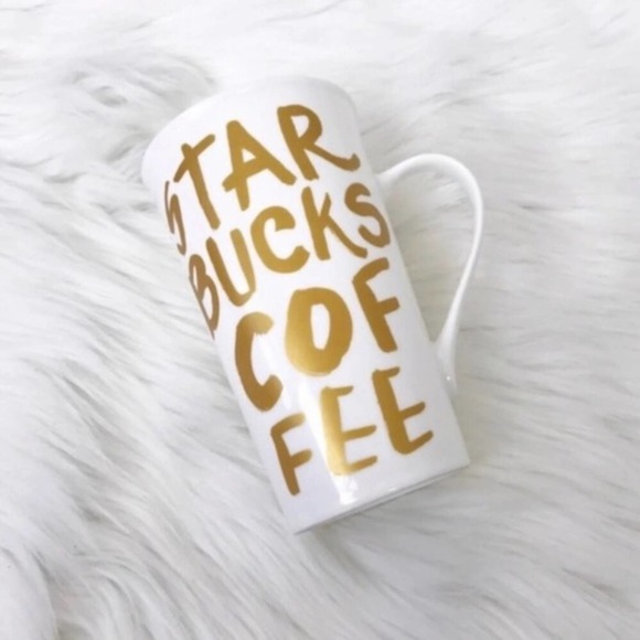 {Starbucks} Gold 16 Fl. Oz. Coffee Mug